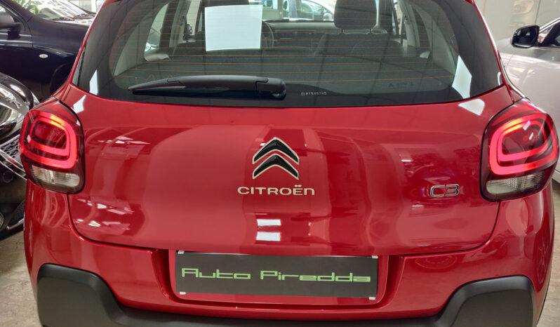 Citroen C3 1.2 Feel Pack Rosso Elixir pieno